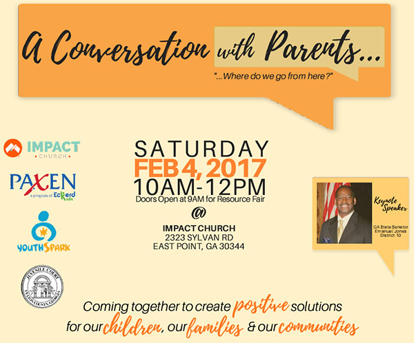 conversation with parents logo